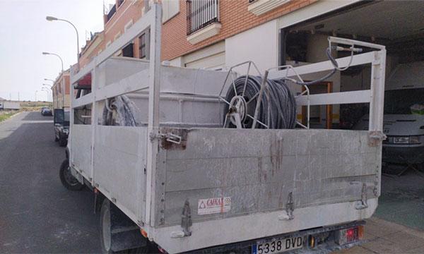 Maquinaria de blanqueo en Almería. /joseantonioarcos.es