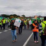 #AgricultoresAlLímite de Huelva cansados de cambiar el dinero