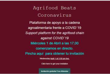 Día 1 de abril. Agrifood Beats Coronavirus
