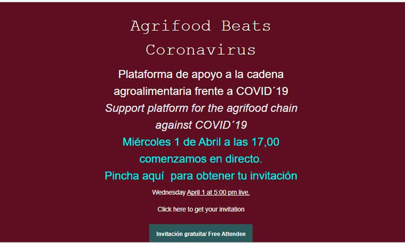 Agrifood beats Coronavirus-joseantonioarcos.es