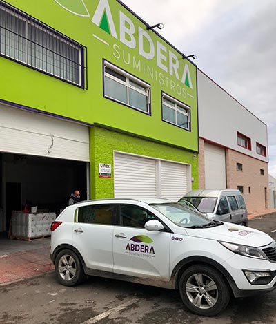 Abdera Suministros dona materiales frente al coronavirus. /joseantonioarcos.es