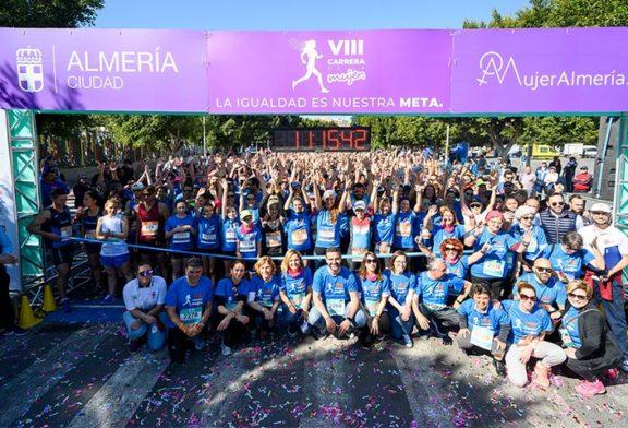 Hortalizas ecológicas en la Carrera de la Mujer en Almería