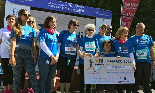 VIII Carrera de la Mujer de Almería, que ha patrocinado Campojoyma-joseantonioarcos.es
