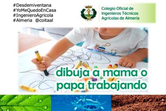El trabajo de la agricultura a través del dibujo de un niño