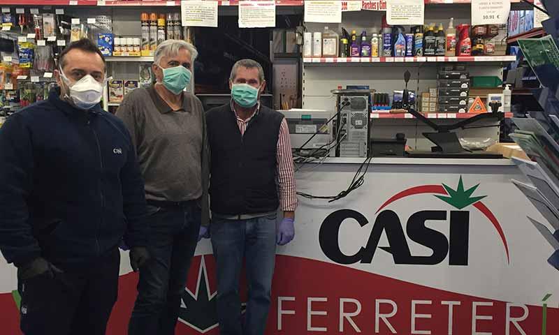 CASI colabora con el Distrito Sanitario Almería contra el coronavirus. /joseantonioarcos.es