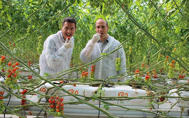 David Herzog y Manuel Hernández. /joseantonioarcos.es