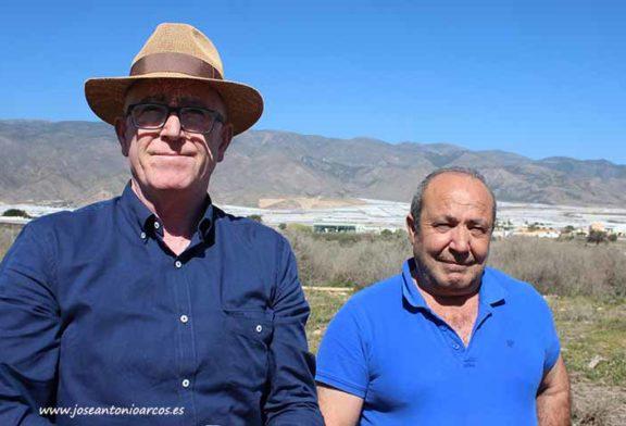 Agricultores piden ayuda para los damnificados por Gloria en Níjar