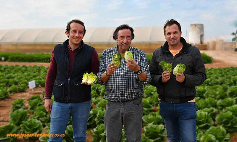 Jesús Bayano, Julián Sabando y José Antonio Sabando de Ramiro Arnedo. /joseantonioarcos.es