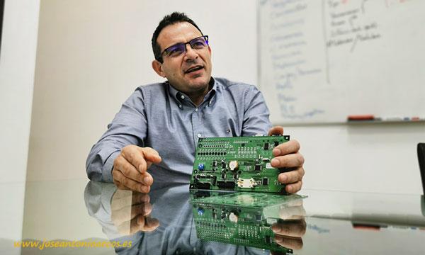 Manuel Hernández, gerente y fundador de Maher. /joseantonioarcos.es