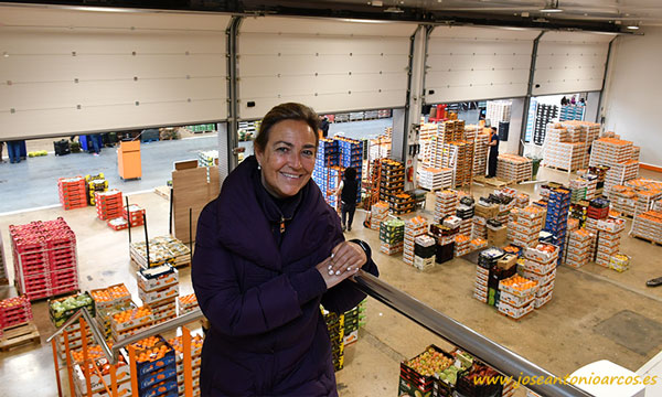 Mª José Sala Torres, Naranjas Torres. /joseantonioarcos.es