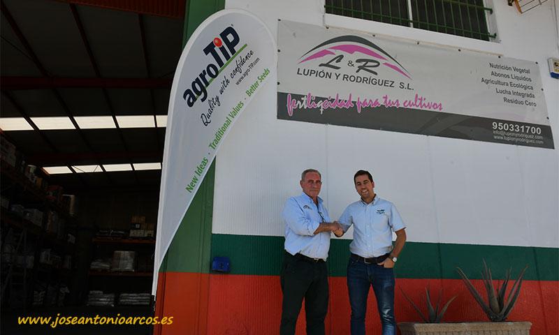 José Manuel Rodríguez y Domingo Reinaldos. /joseantonioarcos.es