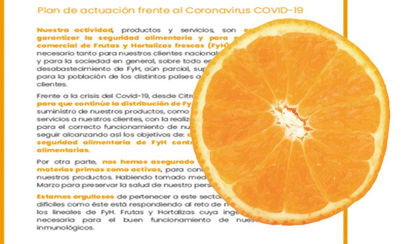 Plan de actuación frente al Coronavirus COVID-19-joseantonioarcos.es