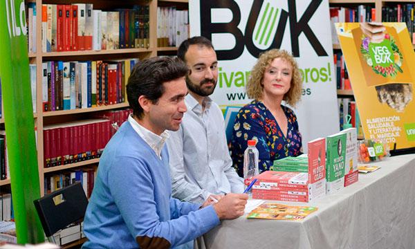 UNICA y Bibabuk ponen en marcha 'Veg&Buk', un maridaje entre comida saludable y literatura 2-joseantonioarcos.es