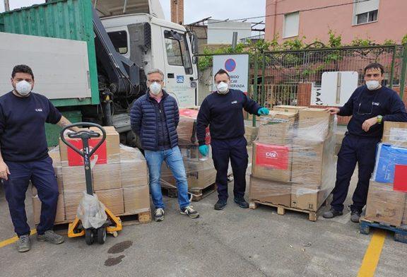 CASI prosigue su acción solidaria con sanitarios y familias necesitadas