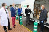 Campoejido entrega 62.500 mascarillas al Hospital de Poniente