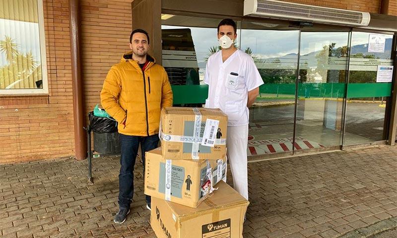 La cooperativa de insumos SUCA ayuda a sanitarios en Almería, Granada y Huelva-joseantonioarcos.es
