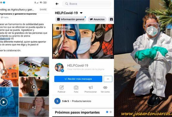 Agricultoras en lucha contra el coronavirus: HELP.covid-19