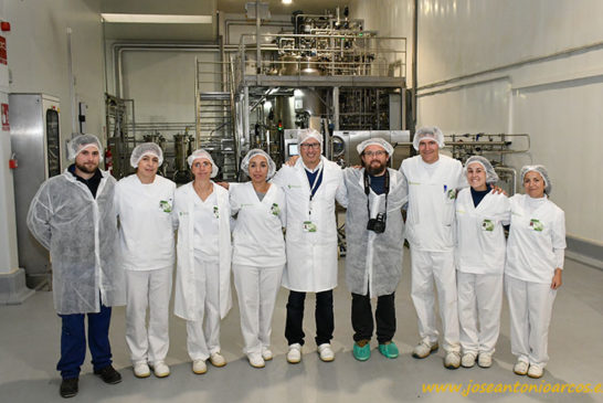 La fábrica pionera en producción de microorganismos