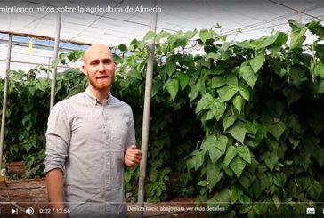 Desmintiendo falsedades sobre la agricultura almeriense (vídeo)
