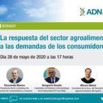 Día 28 de mayo. La respuesta del sector agroalimentario a las demandas de los consumidores