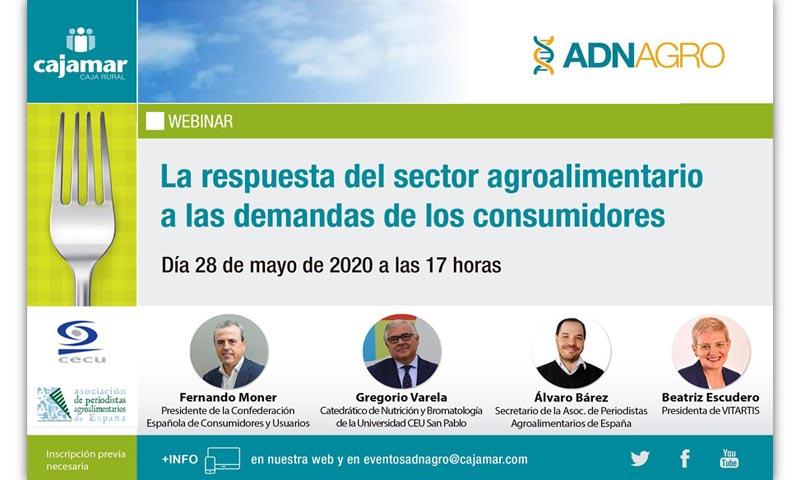 Webinar La respuesta del sector agroalimentario a las demandas de los consumidores-joseantonioarcos.es