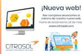 Citrosol estrena la web más vanguardista del sector poscosecha
