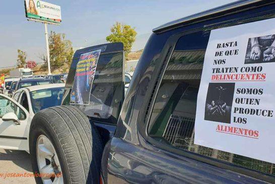 Los independientes se suman a la caravana de Agricultura Viva en Granada